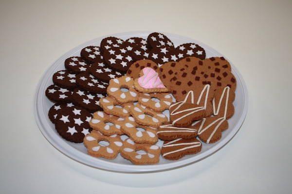 Biscotti di feltro