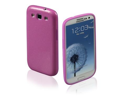 Custodia Glitter per Samsung Galaxy S III