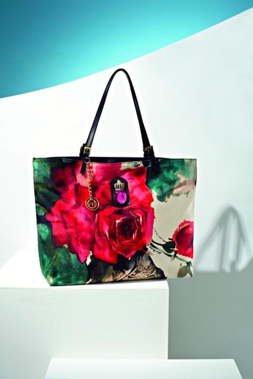 borsa stampa floreale