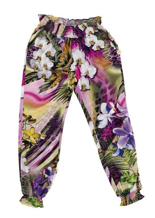EAN 13 pantaloni fiori