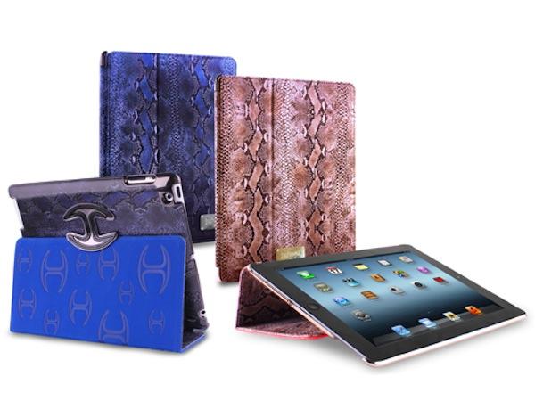Custodia iPad 2 e Nuovo iPad Puro e Just Cavalli