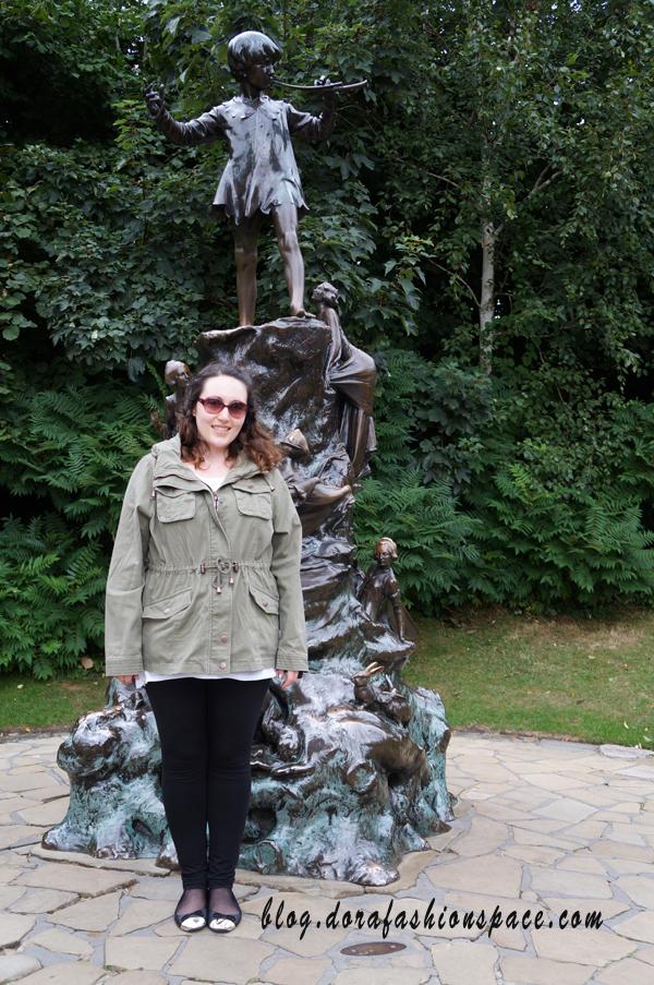 statua peter pan