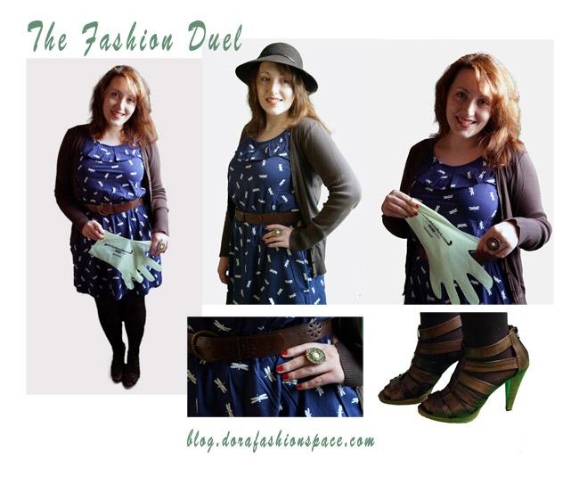 blogger per the fashion duel