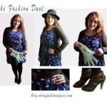 Outfit per the fashion duel di Greenpeace
