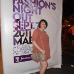 Outfit Vogue Fashion's Night Out - Madrid 2011