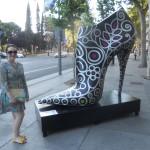 Por calle Serrano Madrid