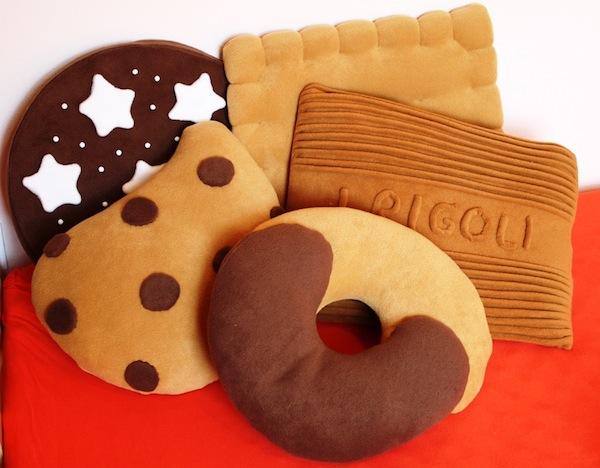 Cuscini biscotto