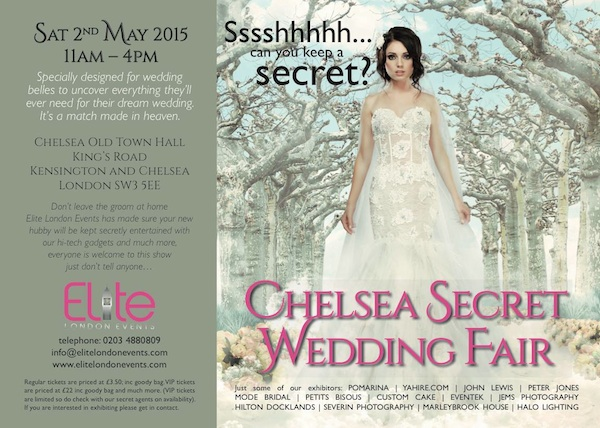 Chelsea Secret Wedding Show