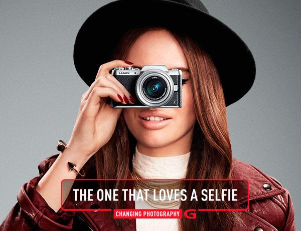 Panasonic-DMC-GF7 selfie mirrorless