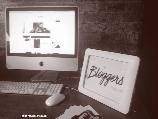 bloggers hangout london fashion week party