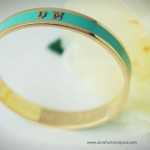 Whistle + Bango: New Bespoke Embossed Bangles