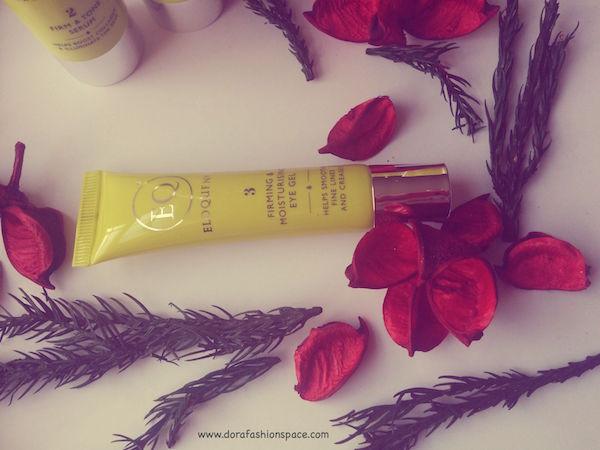 firming and moisturising eye gel