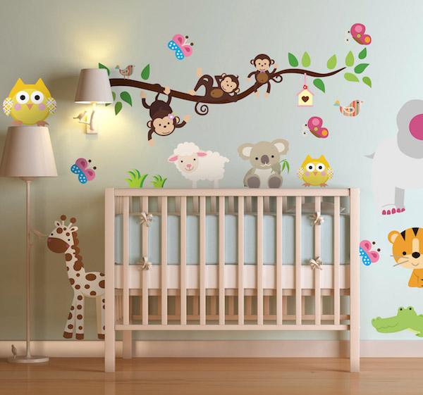 kids jungle sticker