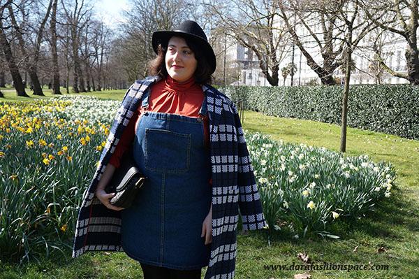 how to wear the denim dress