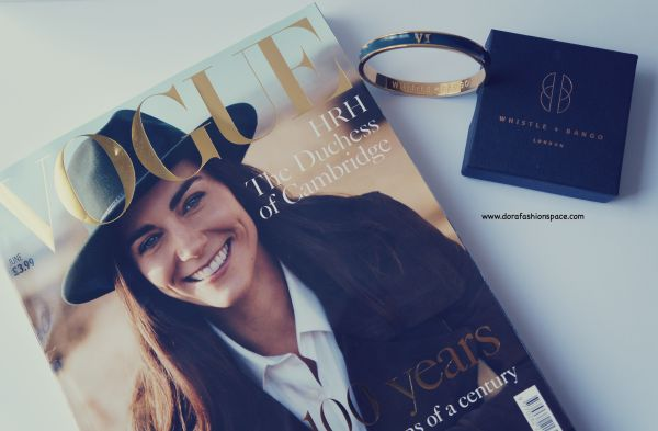numeral bangle and vogue centenary issue