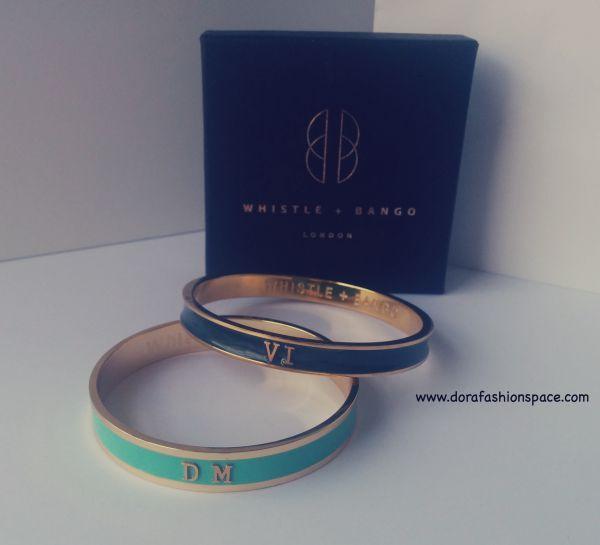personalised bangles whistle and bango