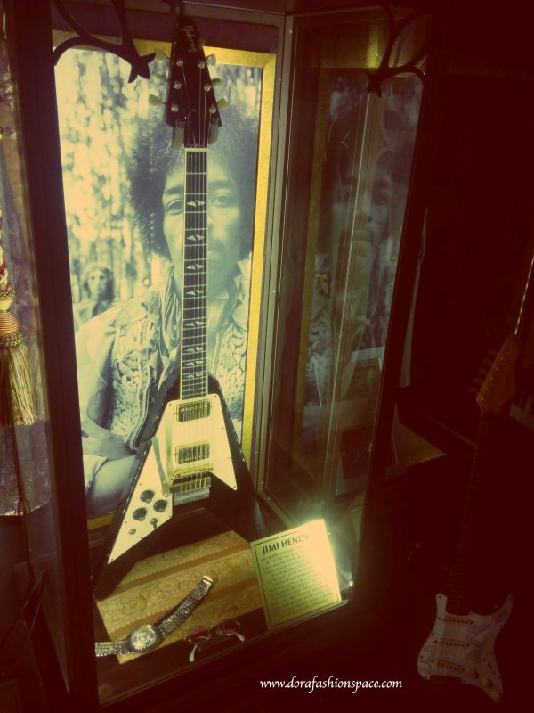 Jimi Hendrix guitar the vault