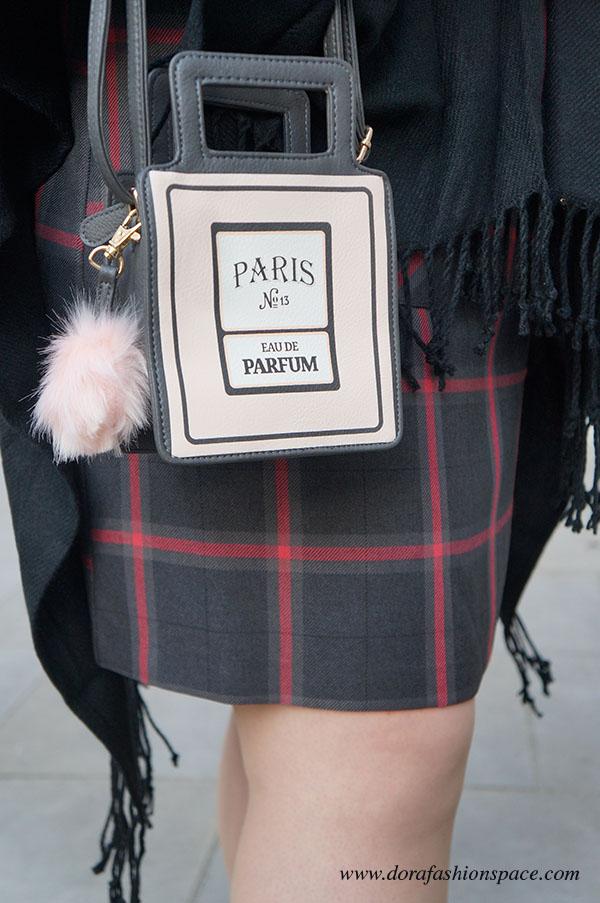 dettagli outfit fashion week Londra