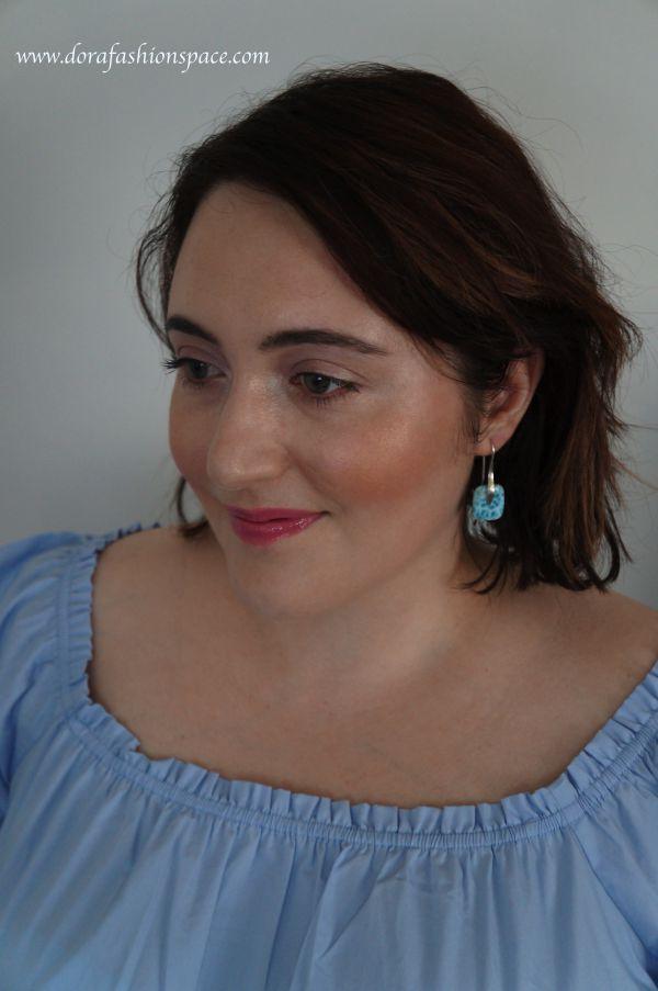 how to wear Larimar jewellery