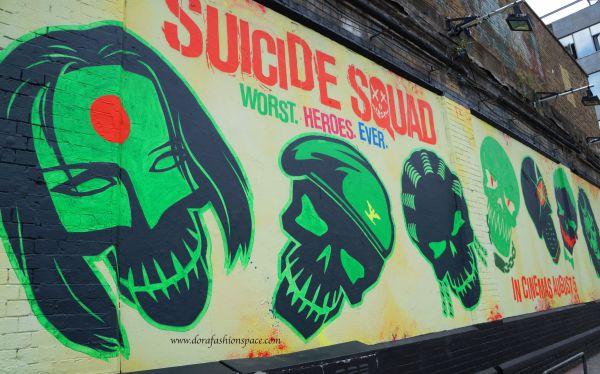 suicide squad street art london