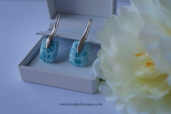 timeless jewellery larimar earrings
