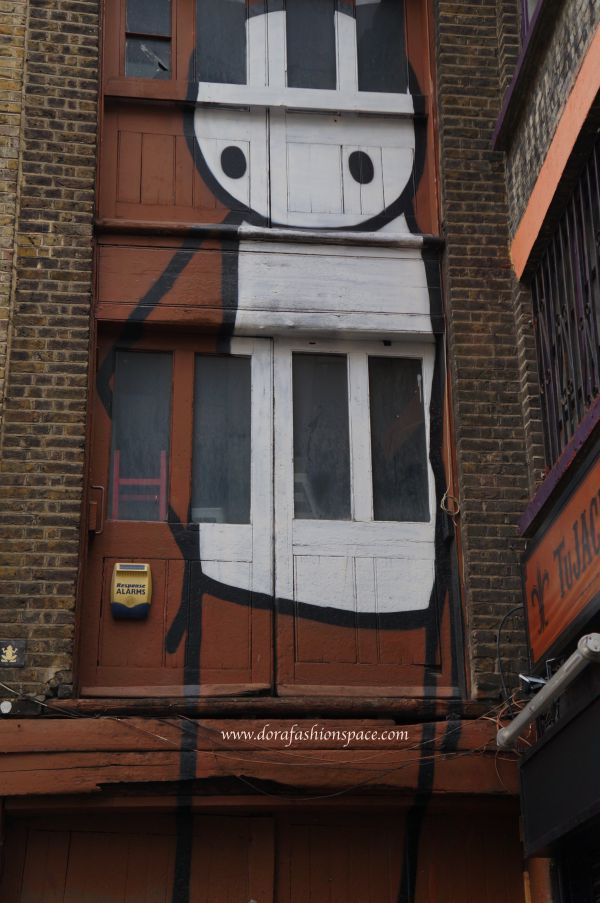 where to see street art in London
