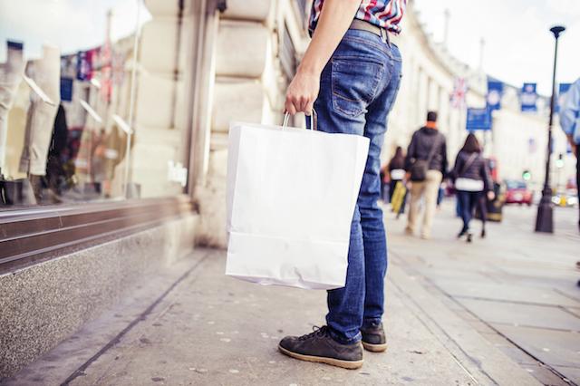 london shopping history