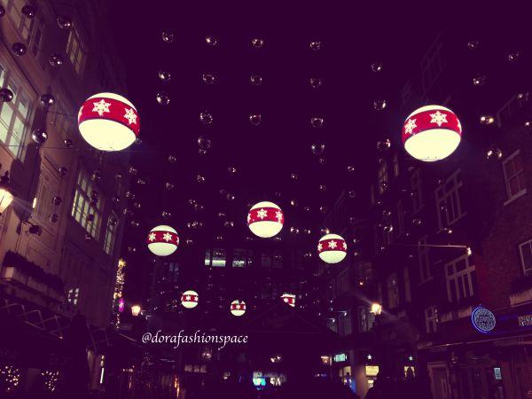 saint christophers place christmas lights london 2016