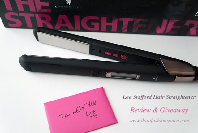 lee stafford hair straightener
