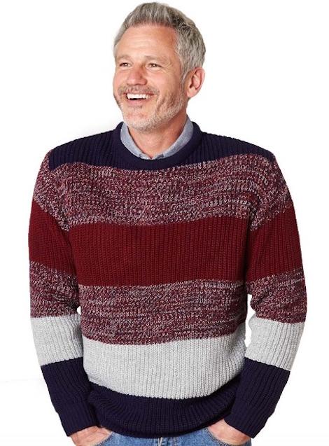 pegasus fishermans knit sweater