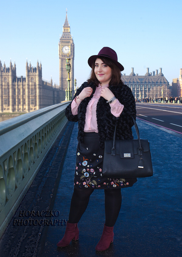 London fashion photo shoot