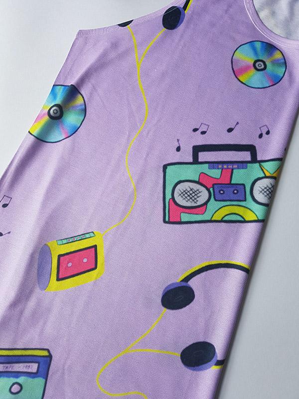Kryptik Rose cassette player 90s top
