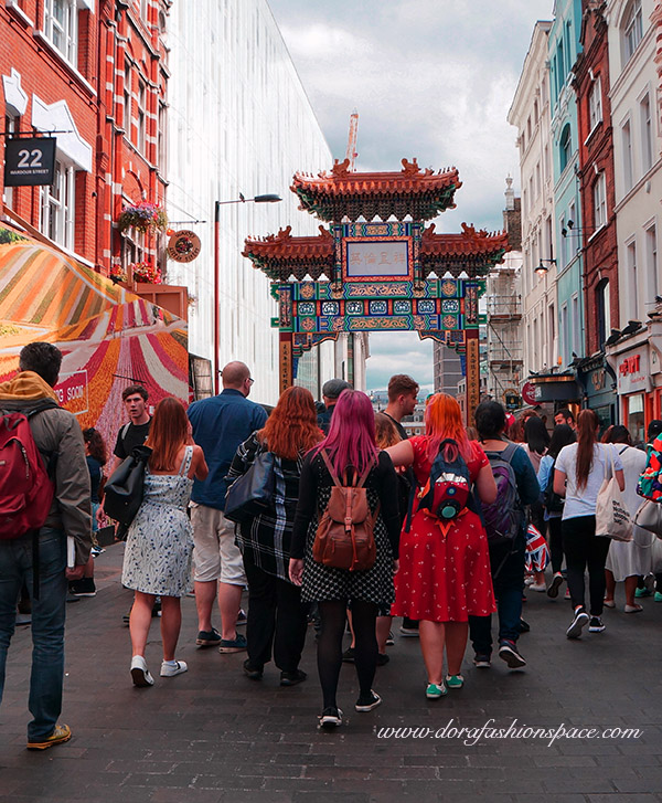 visiting chinatown london