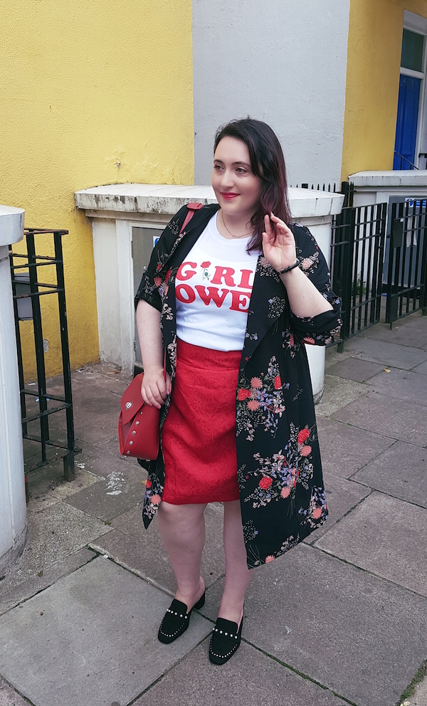 yours clothing floral duster jacket