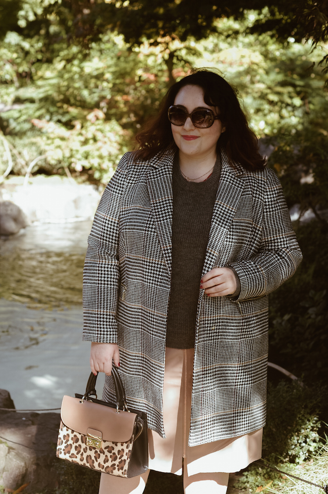 how to style camel and grey