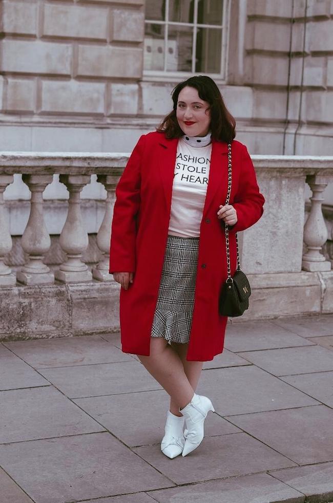 london fashion week street style blogger