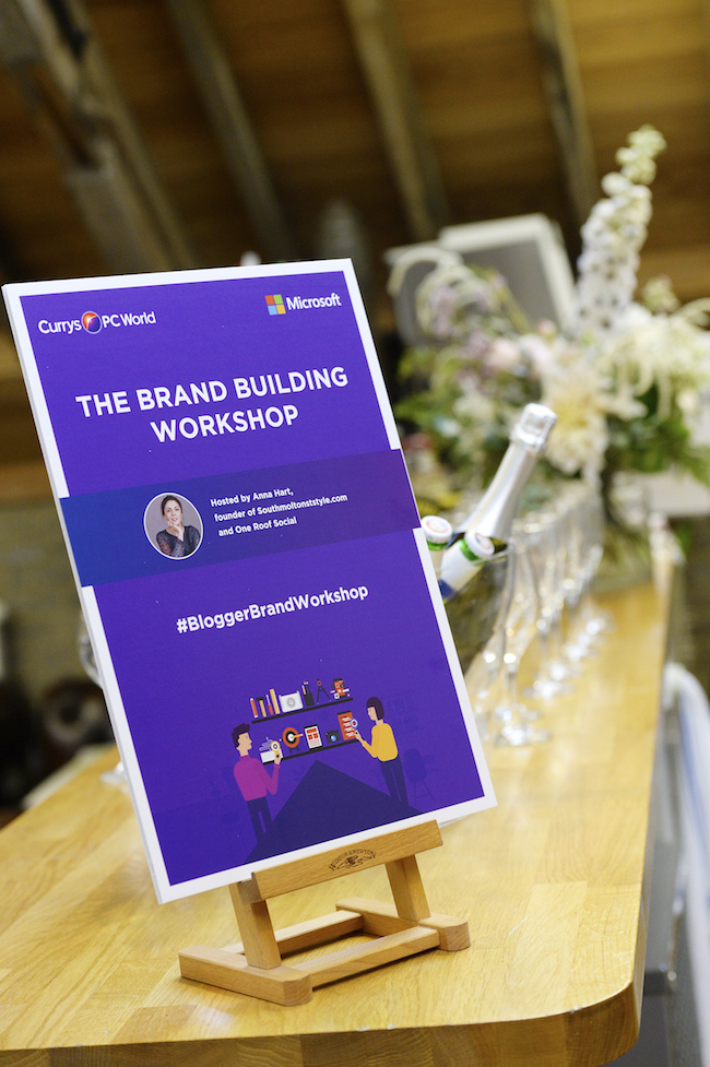 The Brand Building Workshop with Microsoft and Currys
