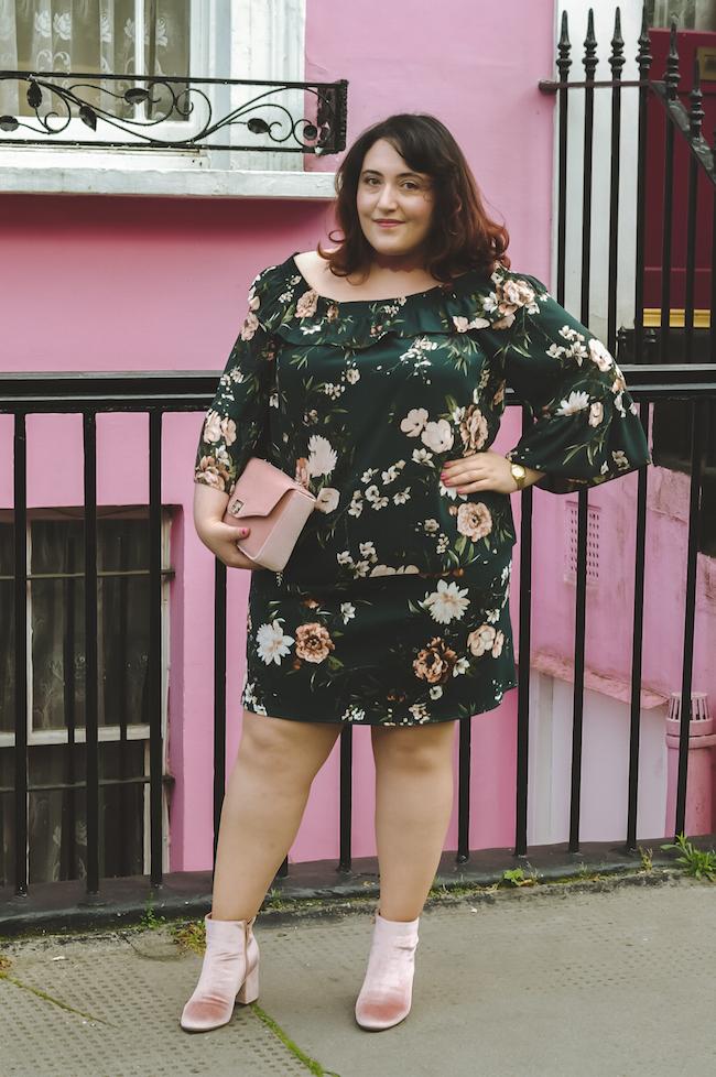 floral co-ords plus size fashion