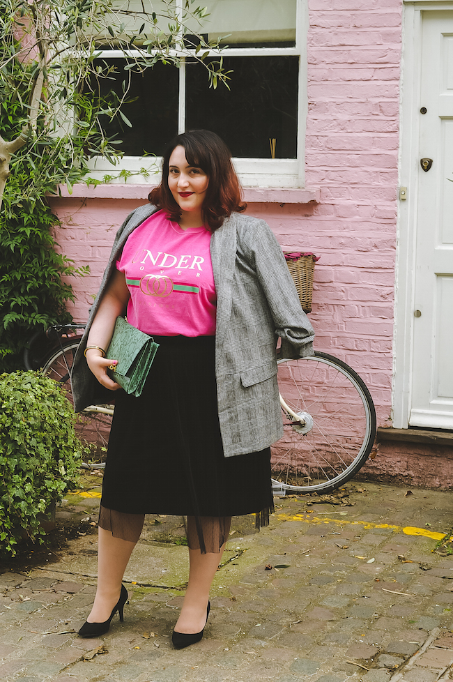 pink house notting hill blogger outfit