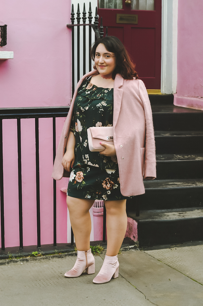 pink house notting hill pink outfit