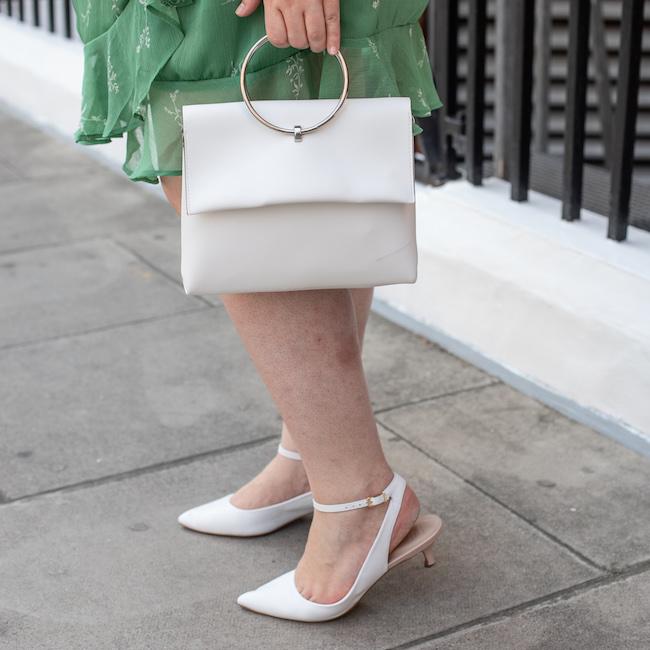 white kitten heel shoes Marks and Spencer